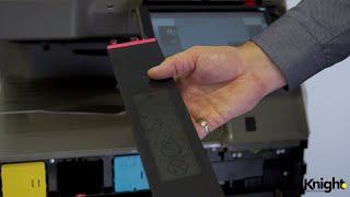 Видео Replacing Toner in Sharp Copiers (автор: Knight Office Solutions)
