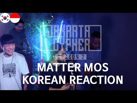[JAKARTA CYPHER SEASON 2] Eps.5 - Matter Mos, Korean Reaction,react To Indonesia, ORANG KOREA REAKSI