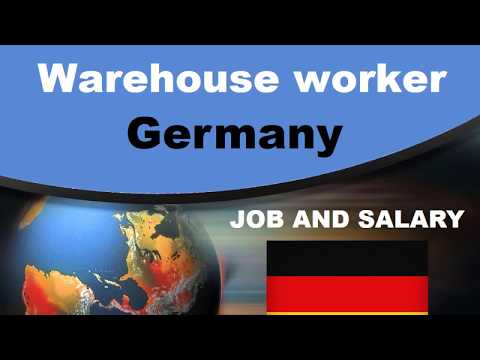 Warehouse Worker Salary In Germany - Jobs And Wages In Germany