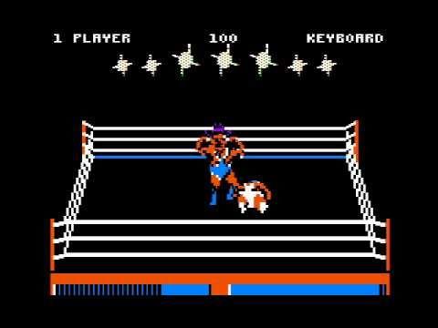 Bop'n Wrestle for the Apple II  
