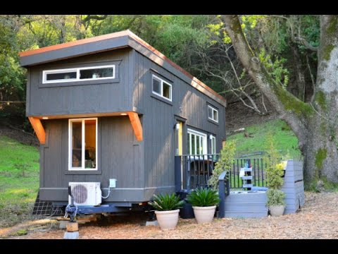 224 Sq Ft Tiny House on Wheels YouTube