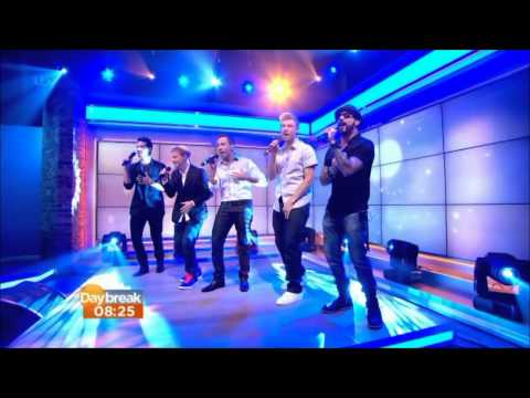 Backstreet Boys - In a World Like This (Live Daybreak)