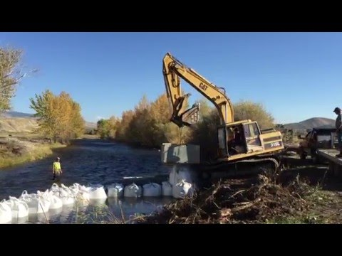 Lemhi River Restoration, Eagle Valley Ranch, Salmon, ID