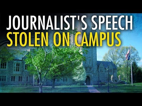 College Admin Arrested After Stealing Conservative Journalist's Speech