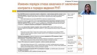 Изменения в законодательстве о контрактной системе 44 ФЗ