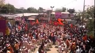Hyderabad SriRam Navmi Shobha Yatra - Dhol-Tasha Garjana | Marathi Band in Hyderabad