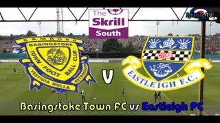 Basingstoke Town FC vs Eastleigh FC 24 08 13