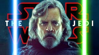 Why Luke Didn't Use His Green Lightsaber in THAT Scene - The Last Jedi