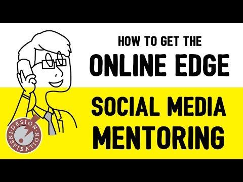 Social Media Mentoring from Design Inspiration