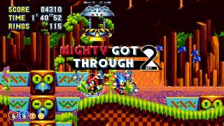 Sonic Mania Plus PS4 Gameplay Mode Bis