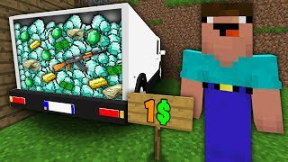 Minecraft NOOB vs PRO : NOOB BOUGHT CAR FOR 1$! WHAT INSIDE Challenge in Minecraft Animation