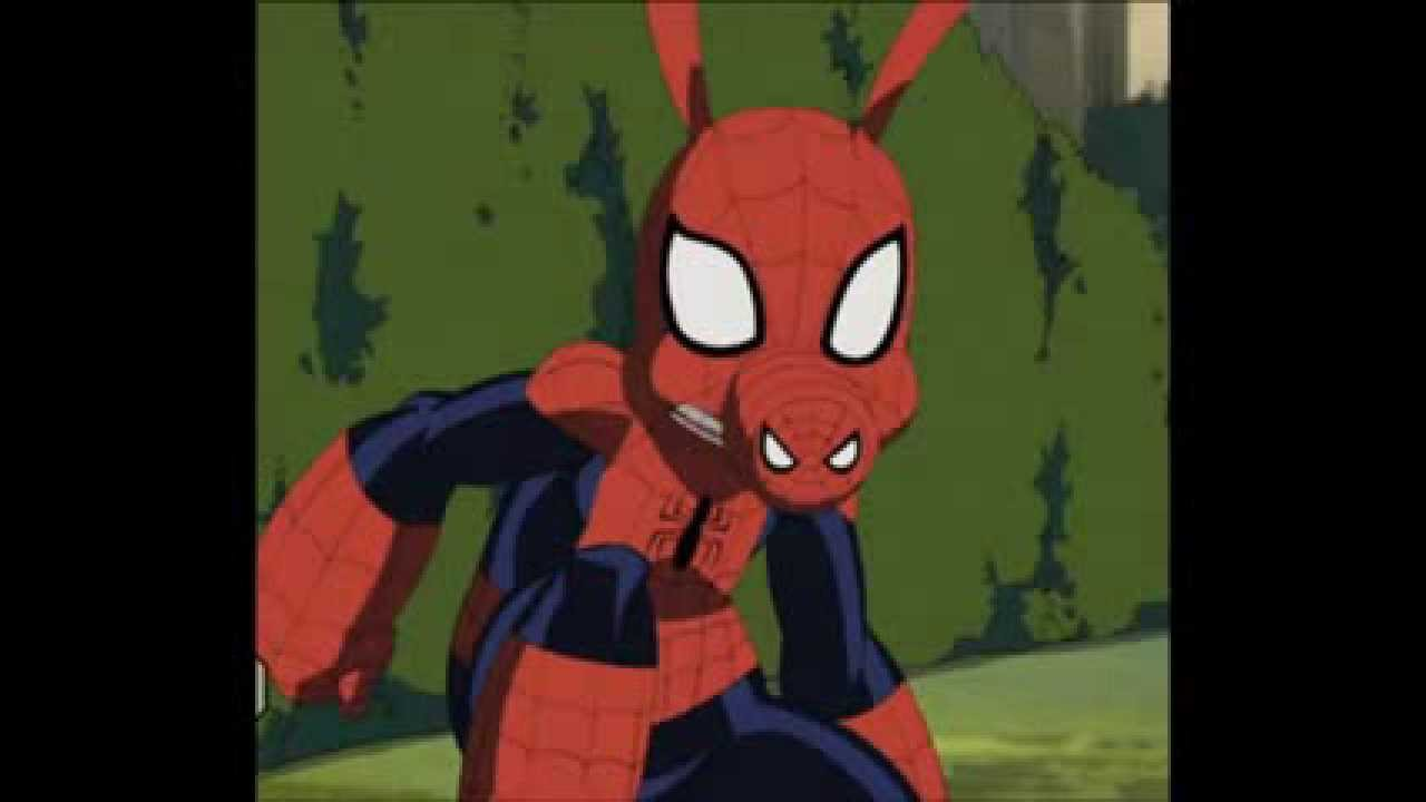 The Simpsons Movie Spider Pig Song With Spiderman Picture Youtube