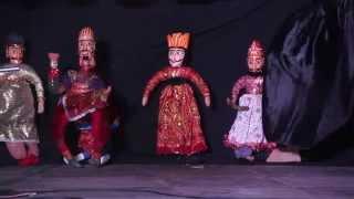 Nspa: The Art Of Kathputli (puppetry) - World Busk Day '14