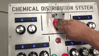 Evilusions Custom Escape Room Prop Chemical Distribution System