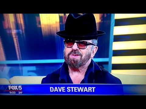 Dave Stewart of the Eurythmics admits possession during interview...Would I lie to you?