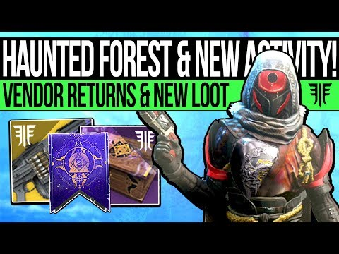 Destiny 2 | HAUNTED FOREST & FESTIVAL CONTENT! Vendor Returns, New Activity, Quest Rewards & Titles