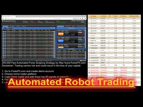Forex robots automate your trading forex robot included