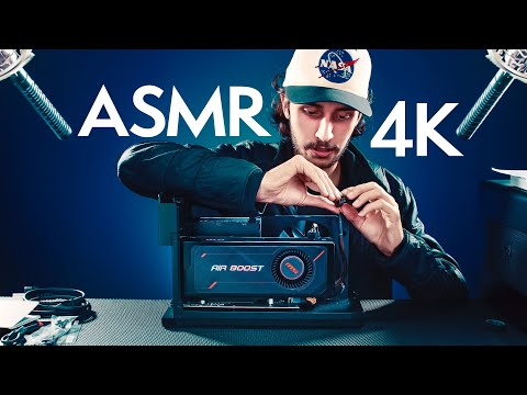 ASMR First video in 4K 🖥️Unboxing & Build an eGPU (whispering)