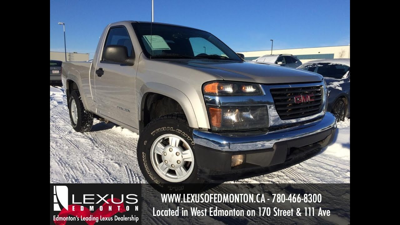 used silver 2005 gmc canyon reg cab 111 2 wb 4wd sle z85. Black Bedroom Furniture Sets. Home Design Ideas