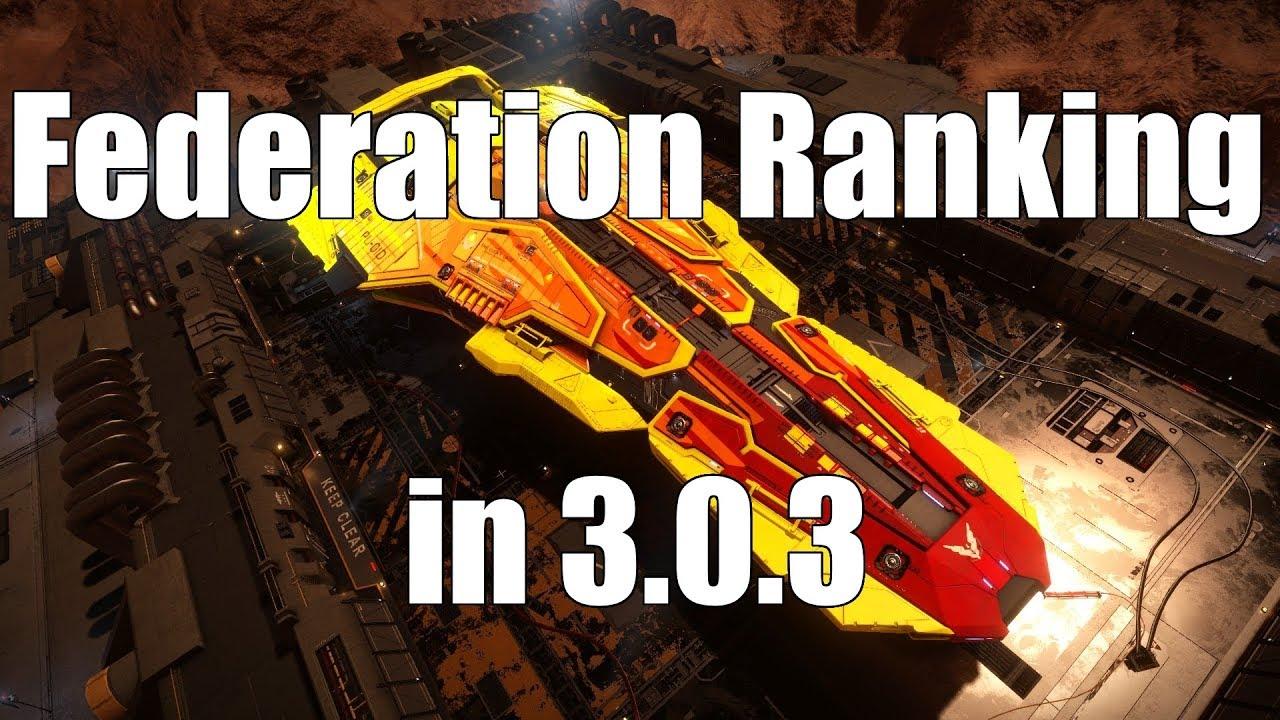 Elite: Dangerous - Federation Ranking in 3 0