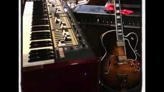 chitlins con carne (kenny burrell) practice - Gibson L-5 CES Nord keyboard - duet