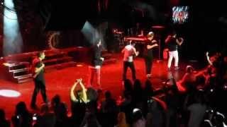 Backstreet Boys - Group A concert on the Cruise 2013 [Part 9]