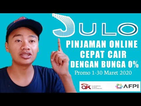 Julo Pinjaman Online Cepat Cair Bunga 0 Youtube