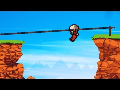 ZIPLINE ESCAPE FROM PRISON! (The Escapists 2) |