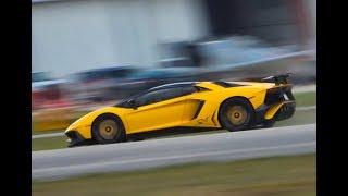 BEST of Supercar SOUNDS Onboard acceleration RACING REVS Lamborghini Ferrari McLaren EXOTIC STEREO