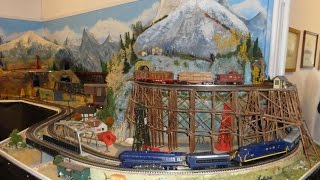 Del Webb Sun City G O Ho H.o. N Gauge Scale Model Train Railroad Layout Huntley Il