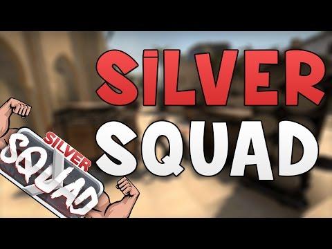 CS:GO - Silver Squad! (CSGO Funny Silver Moments)