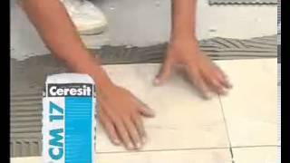 Видеоуроки по ремонту квартир.  Как использовать смесь Ceresit CM 17