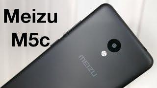 Meizu M5c: первая распаковка и первые впечатления