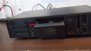 Das 55€ Nakamichi High-End Tapedeck von Ebay...