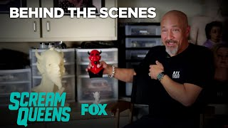 SCREAM QUEENS | Behind The Screams: The Man Behind The Mask