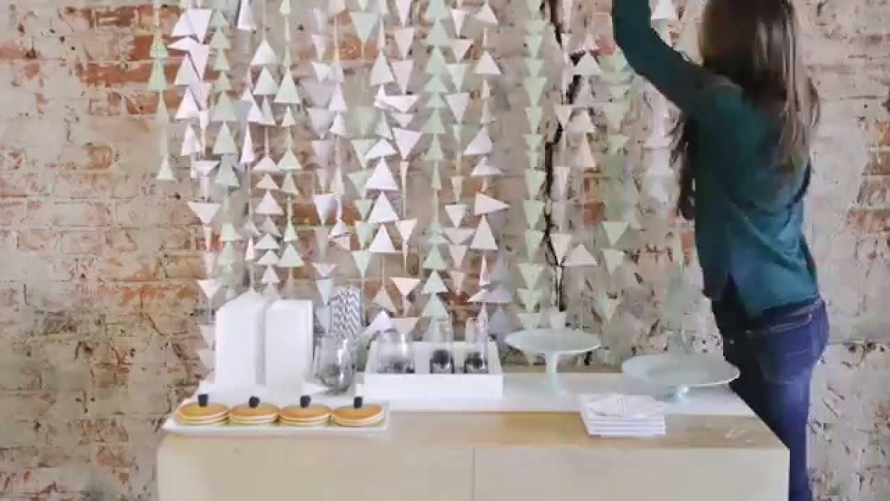 Diy Bridal Shower Decoration Ideas Video Myweddingcom Youtube