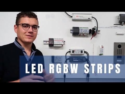 LED RGBW Strips,