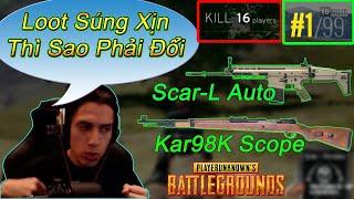 Hnh Nt Khu Qun S, Thnh Grimmmz GI Scar-L + Kar98 TI CUI GAME V End Game Vi 16 Kills Top 1