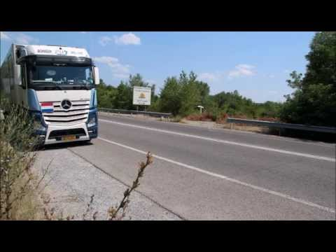 truck fleet videos/ h.verdijk international transport