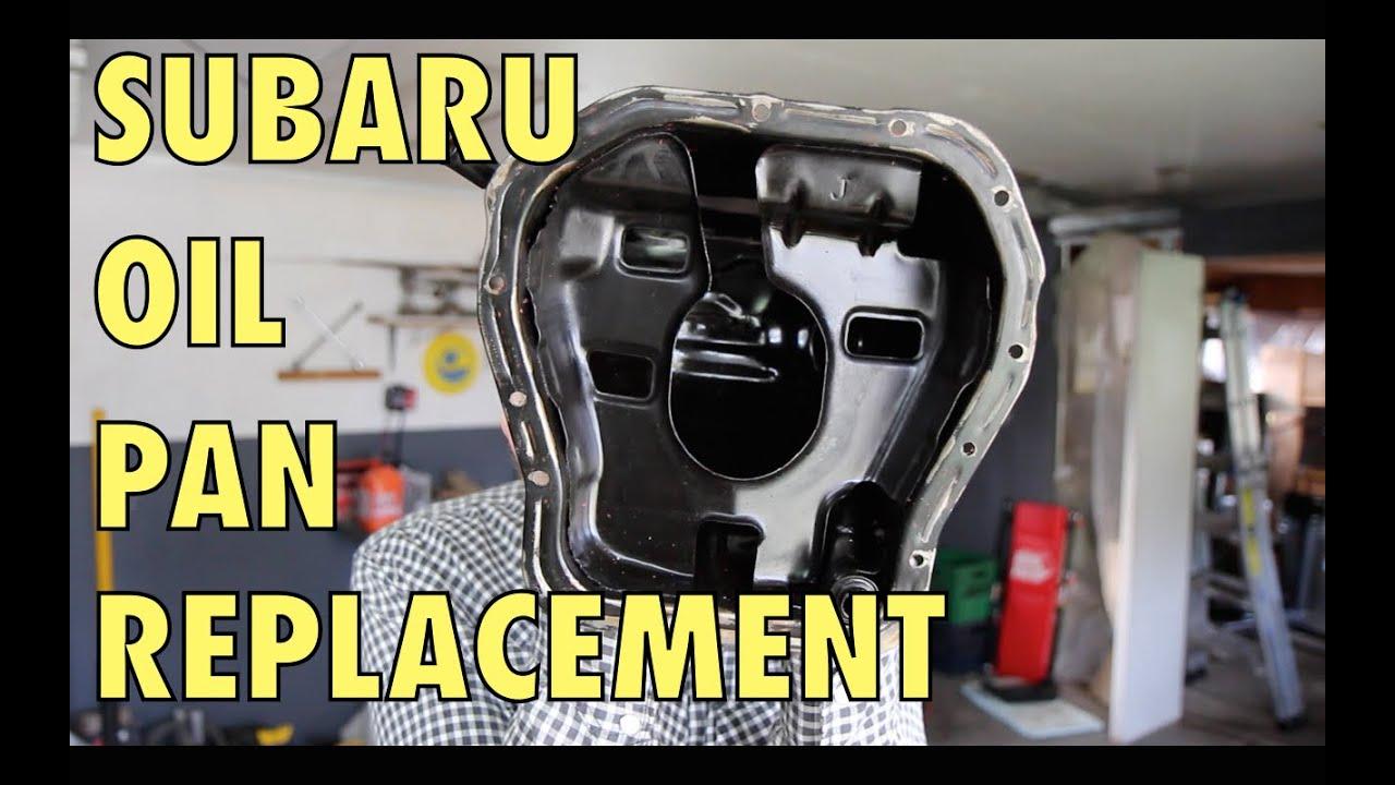 hight resolution of subaru oil pan replacement