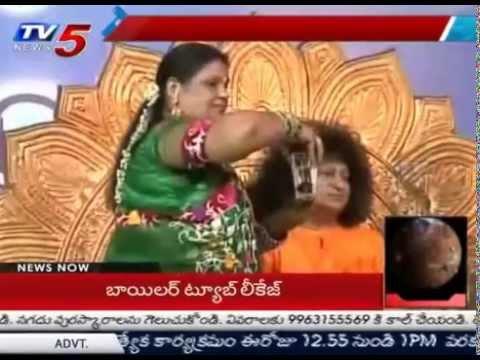 Sri Bala Sai Baba Produces Aatma Lingam From his Body : TV5 News