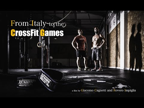 From Italy to the CrossFit Games | A portrait of Bernard Luzi and Giulio Silvino