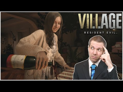 Resident Evil Village #1 – Mia has a Drinking Problem?