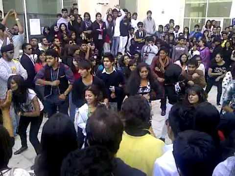 Flash Mob @ Heriot Watt University, Dubai Campus - YouTube