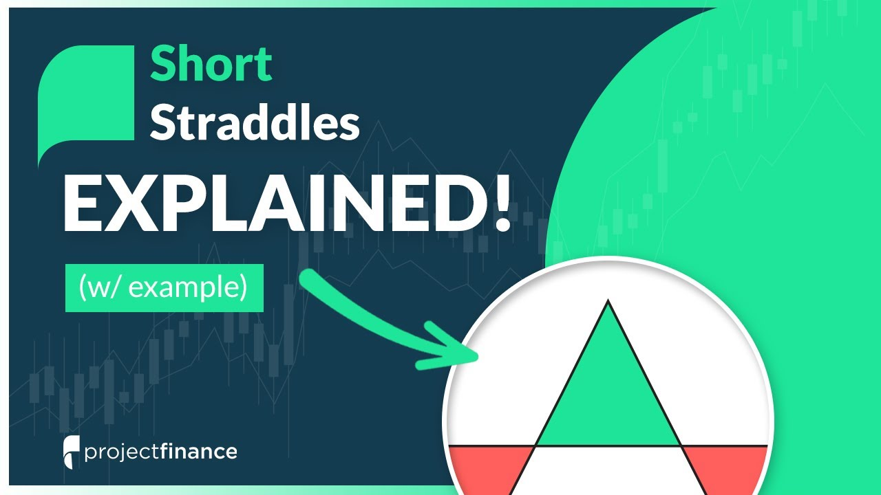 Short straddle option strategy adjustment