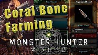 Coral Bone farming Monster Hunter World - Coral Bone MHW