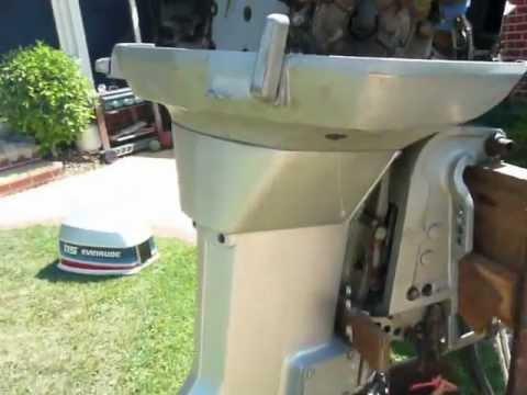 1980 Evinrude 115 Hp 2 Stroke Outboard Motor