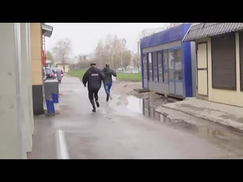 В Казани полицейские устроили погоню за мужчиной без маски