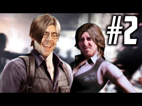 """Resident Evil 6 - Co-Op Walkthrough w/ Chief - Part 2 """"LAGGING ZOMBIES"""" (Let's Play, Playthrough)"""