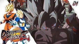 UNA NUEVA HISTORIA INTERESANTE! Dragon Ball Fighter Z MODO HISTORIA Parte 1